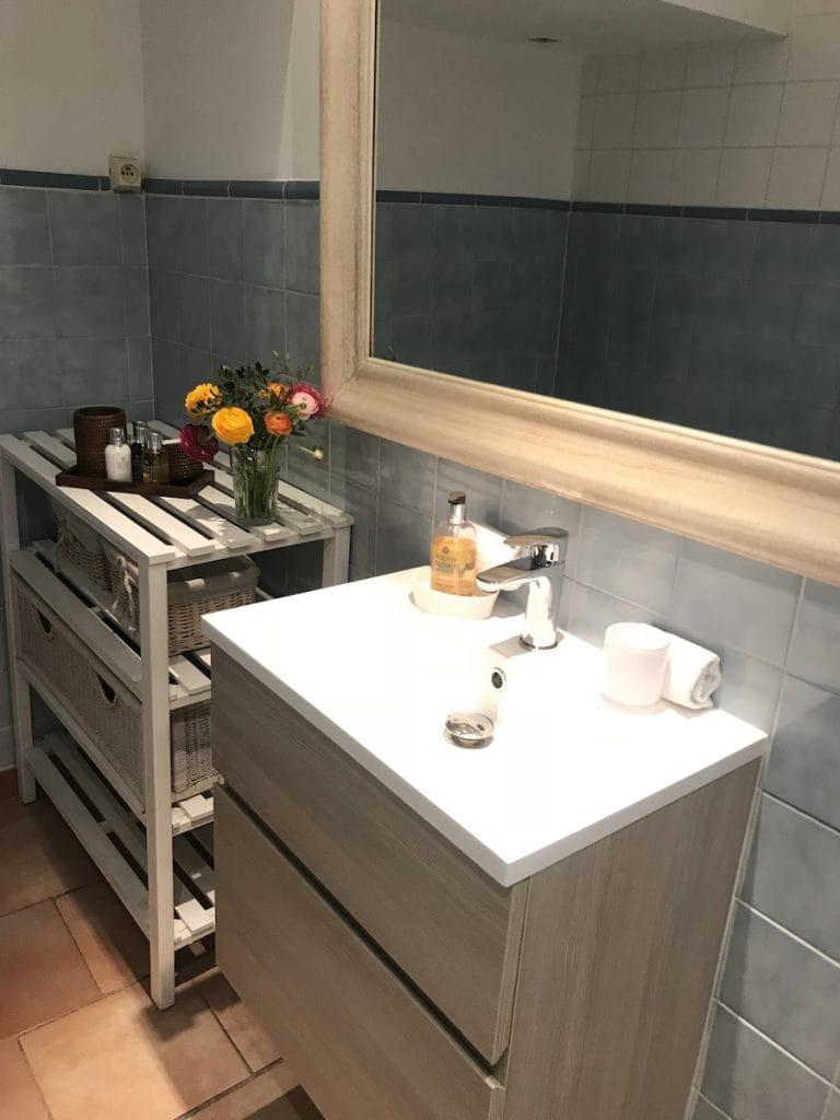 Bathroom Market apartment Antibes