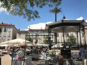 Antiques-market Antibes